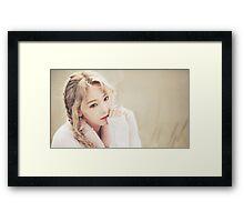 taeyeon-I Framed Print