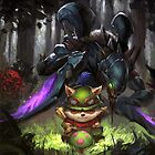 league of legends-teemo hunting by SNSDseohyun