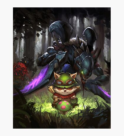 league of legends-teemo hunting Photographic Print