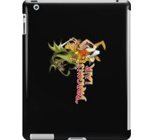 Dragons Lair - White Outline iPad Case/Skin