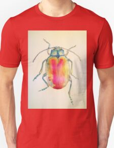 Chrysolina Fatsuo by Liz H Lovell Unisex T-Shirt