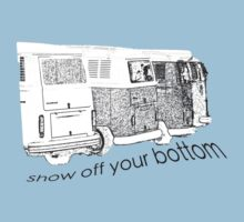 VW Kombi-bottoms - show off your bottom by melodyart