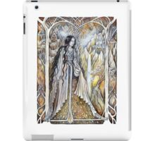 Lady of the elven city iPad Case/Skin