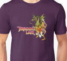Dragons Lair - White Outline Unisex T-Shirt