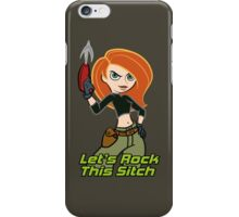 Let's Rock This Sitch iPhone Case/Skin