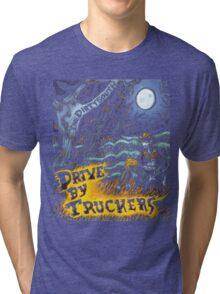 TARAZON02 Drive-By Truckers american band Tour 2016 Tri-blend T-Shirt