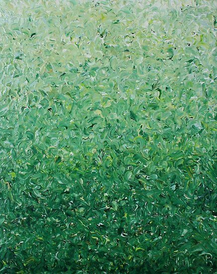 Green Gradient by Ric Bascobert