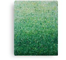 Green Gradient Canvas Print
