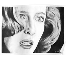Dana Scully- Pusher Poster