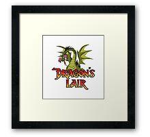Dragons Lair - Dragon Variant Framed Print