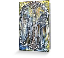 Elven lords Greeting Card