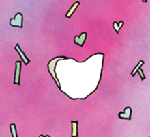 Donut Break My Heart Sticker