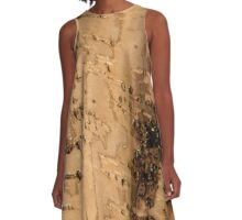 Bark A-Line Dress