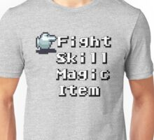 Turn-Based Battle Menu Unisex T-Shirt