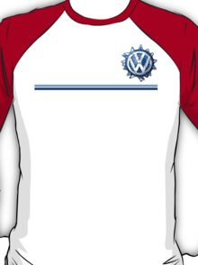VW Classic Swirl and lines  T-Shirt