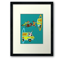 Scooby-Doo and Portal Too Framed Print