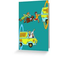 Scooby-Doo and Portal Too Greeting Card