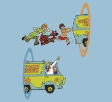 Scooby-Doo and Portal Too by PaulMonj