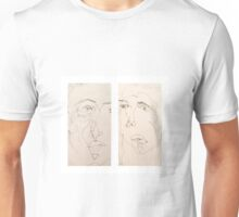 Blind Contour double Unisex T-Shirt