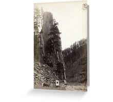 Castle Rock - John Grabill - 1888 Greeting Card