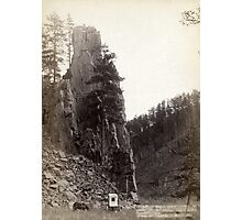 Castle Rock - John Grabill - 1888 Photographic Print