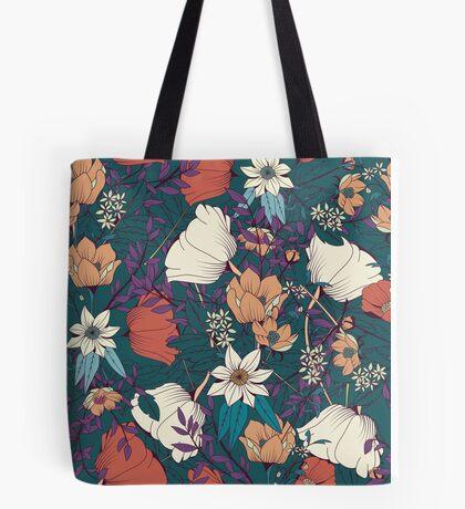 Botanical pattern 008 Tote Bag