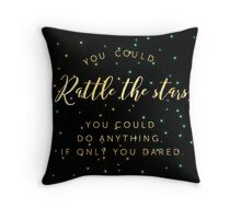 rattle the stars v1 Throw Pillow