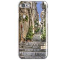 Steps in Dubrovnik iPhone Case/Skin