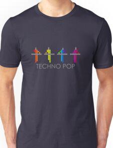 PIXEL8   Power Station   TECHNO POP Unisex T-Shirt