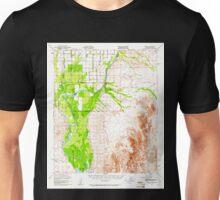 USGS TOPO Map Arizona AZ Cibola 314481 1951 62500 Unisex T-Shirt