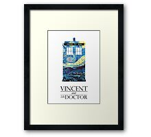 """Vincent and the Doctor"" Framed Print"