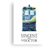 """Vincent and the Doctor"" Canvas Print"
