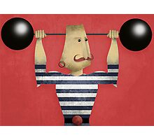 WEIGHTLIFTER Photographic Print