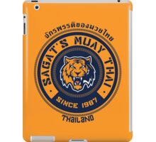 Sagat's Muay Thai 2 iPad Case/Skin