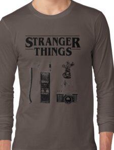 Stranger Things Stylised Objects Demogorgon Radio Long Sleeve T-Shirt