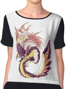MONSTER HUNTER - Tamamitsune - Chiffon Top