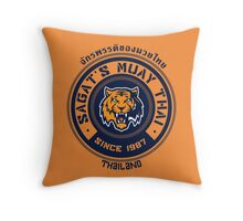 Sagat's Muay Thai 2 Throw Pillow