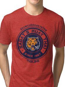 Sagat's Muay Thai 2 Tri-blend T-Shirt