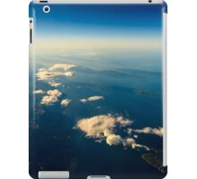 Earth Islands And Mediterranean Sea At 10.000m Altitude Above Ground iPad Case/Skin