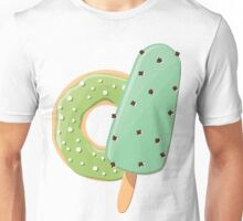 Ice cream and donuts 001 Unisex T-Shirt