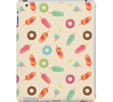 Ice cream and donuts 001 iPad Case/Skin