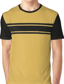 Retro Inspired Stripes Uni Spicy Mustard Fall 2016 Graphic T-Shirt