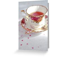 Teatime Greeting Card