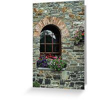 Window on the Great Famine Greeting Card