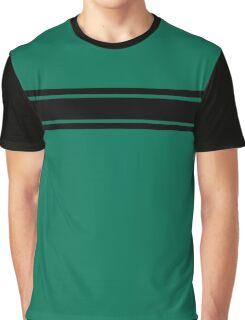 Retro Inspired Stripes Uni Lush Meadow Fall 2016 Graphic T-Shirt