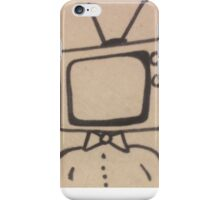 T.V. Man iPhone Case/Skin