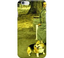 Friar & His Dog iPhone Case/Skin