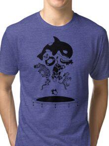 Bouncing Animals Tri-blend T-Shirt