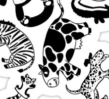 Bouncing Animals Sticker