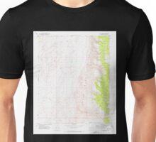 USGS TOPO Map Arizona AZ Olaf Knolls 312696 1971 24000 Unisex T-Shirt
